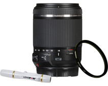 Tamron 18-200mm f/3.5-6.3 Di II VC Canon EF-S + UV-Filter 62mm + Elite Lenspen