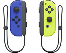 Nintendo Switch Joy-Con set Blauw/Neon Geel