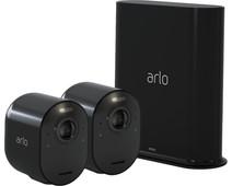 Arlo Ultra Zwart 4K Duo Pack