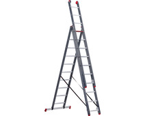 Altrex All-round 3 x 10 Reform Ladder Coated