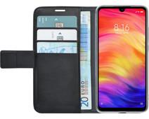 Azuri Wallet Magneet Xiaomi Redmi Note 7 Book Case Zwart