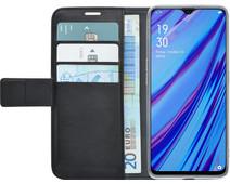 Azuri Wallet Magneet OPPO A5/A9 (2020) Book Case Zwart