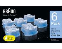 Braun Cleaning Fluid Clean & Renew Cartridges (6 units)