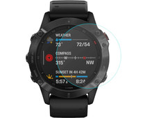 Just in Case Garmin Fenix 6 / 6 PRO /  6 Sapphire 47mm Screenprotector Glas