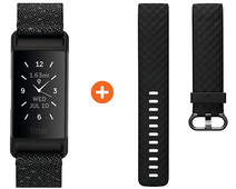 Fitbit Charge 4 Special Edition Granite + Extra Plastic Strap