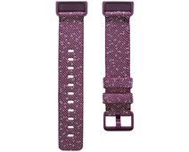 Fitbit Charge 4 Nylon Strap Rosewood Size S