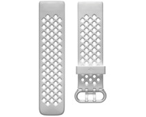 Fitbit Charge 4 Silicone Strap Frost White Size S