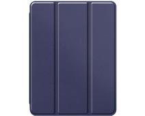 Just in Case Tri-Fold Apple iPad Pro 12,9 inch (2020) Book Case met Pencil Houder Blauw