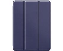 Just in Case Tri-Fold Apple iPad Pro 11 inch Book Case met Pencil Houder Blauw