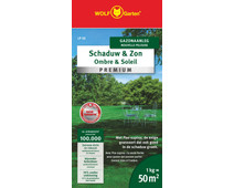 Wolf Garten Grass Seed Shade and Sun Lawn 50m² LP 50