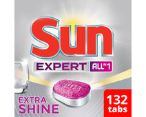 Sun Expert Extra Shine All-in-1 - 132 stuks