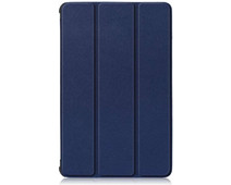 Just in Case Tri-Fold Lenovo Tab M10 Plus Book Case Blue