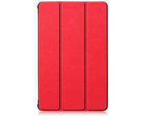 Just in Case Tri-Fold Lenovo Tab M10 Plus Book Case Red