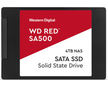 WD Red SA500 NAS 2,5 inch SSD 4TB
