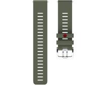 Polar Silicone Strap Green M/L 22mm