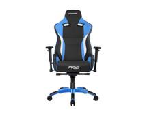 AKRacing Gaming Chair Master Pro - Zwart / Blauw