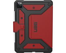 UAG Metropolis Apple iPad Pro 12,9 inch (2020) Book Case Rood