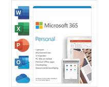 Microsoft 365 Personal Subscription 1 Year NL
