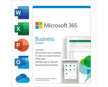 Microsoft 365 Business Standard  Subscription 1 Year EN