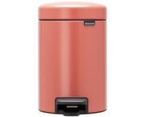 Brabantia NewIcon Pedal Trash Can 3L Pink