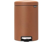 Brabantia NewIcon Pedal Trash Can 12L Gold