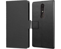 Just in Case Wallet Nokia 4.2 Book Case Zwart