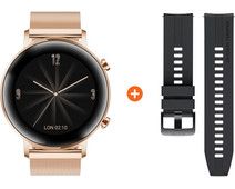 Huawei Watch GT 2 RVS Rose goud 42mm
