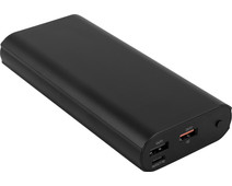 BlueBuilt Power Bank 20,000mAh Power Delivery 3.0 + Quick Charge 3.0 Black
