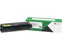 Lexmark C332 Toner Geel (Hoge Capaciteit)