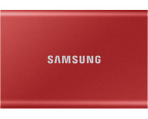 Samsung T7 Portable SSD 2TB Red