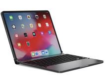 Brydge Apple iPad Pro 12,9 inch (2020)/(2018) Bluetooth Toetsenbord Hoes Space Gray
