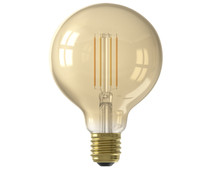 Calex WiFi Smart G95 Globe Light Gold Filament E27