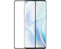 Azuri Rinox Case Friendly OnePlus 8 Screenprotector Glas Zwarte Rand