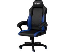 Nitro Concepts C100 Gaming Stoel Zwart/Blauw