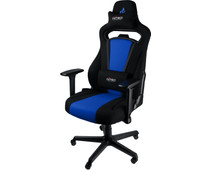 Nitro Concepts E250 Gaming Stoel Zwart/Blauw