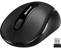 Microsoft Wireless Mobile Mouse 4000 Zwart