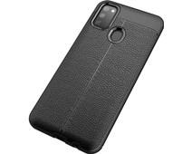 Just in Case Soft Design Samsung Galaxy M21 Back Cover Zwart