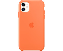 Apple iPhone 11 Silicone Back Cover Vitamine C
