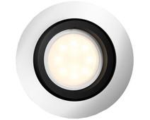 Philips Hue Milliskin Recessed Spot Light White Ambiance Aluminum - Round