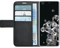 Azuri Wallet Magneet Samsung Galaxy S20 Ultra Book Case Zwart