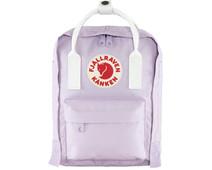 Fjällräven Kånken Mini Pastel Lavender-Cool White 7L - Children's Backpack