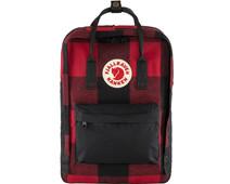 Fjällräven Kånken Re-Wool 15 inches Red-Black 18L