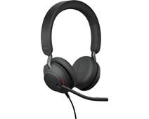 Jabra Evolve2 40 UC Stereo USB-A Headset Zwart
