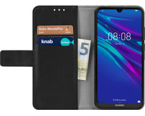 Just in Case Wallet Huawei Y6 (2019) Book Case Black