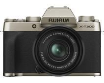 Fujifilm X-T200 Goud + XC 15-45mm f/3.5-5.6 OIS PZ