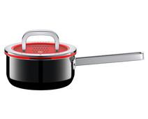 WMF FusionTec Functional Steelpan 16 cm + deksel  Zwart