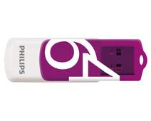 Philips FM64FD05D - USB 2.0 64GB - Vivid - Purple - 2 units