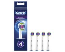 Oral-B 3D White Opzetborstel 4 Stuks