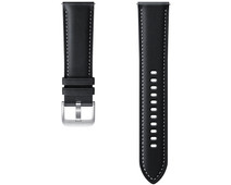 Samsung Galaxy Watch3 45mm Leather Strap Black 22mm