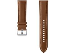 Samsung Galaxy Watch3 41 mm Leren Bandje Bruin 20 mm